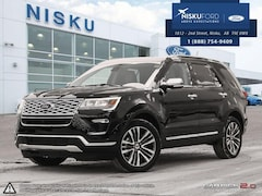 2018 Ford Explorer Platinum 4WD - Leather Seats SUV
