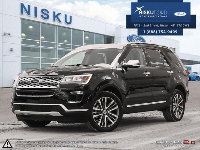 New 2018 Ford Explorer Platinum 4WD - Sunroof -  Navigation SUV In Nisku and Edmonton Area
