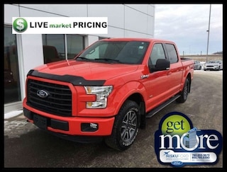 2016 Ford F-150 XLT 4X4 SUPERCREW 302A LEATHER!! Truck