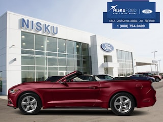 New 2017 Ford Mustang Ecoboost Premium - Leather Seats Convertible in Nisku
