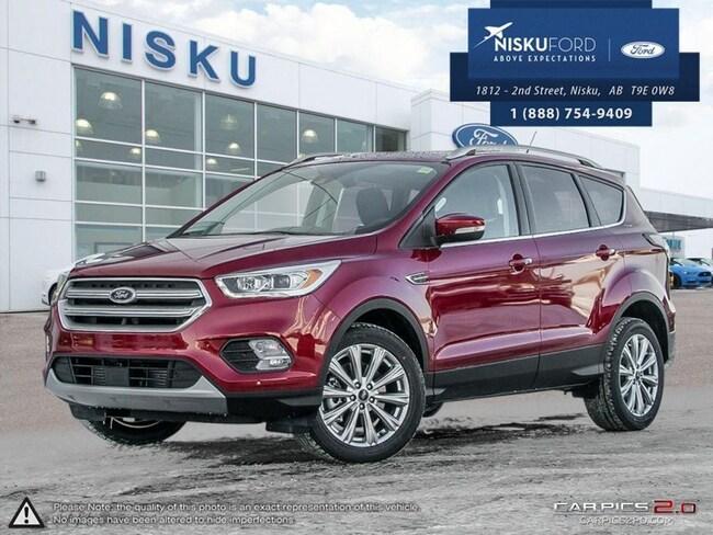 New 2018 Ford Escape Titanium - Leather Seats -  Bluetooth SUV In Nisku and Edmonton Area
