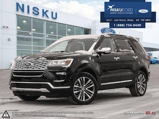 New 2018 Ford Explorer Platinum 4WD - Leather Seats SUV in Nisku