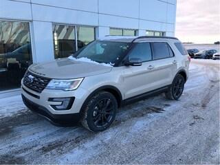 New 2017 Ford Explorer XLT SUV in Nisku