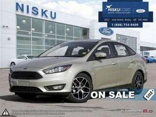 New 2017 Ford Focus SEL - Sunroof -  Bluetooth -  Siriusxm Sedan in Nisku