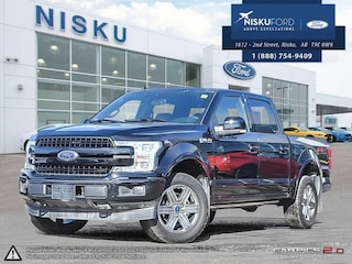 New 2018 Ford F-150 Lariat - Leather Seats -  Luxury Package Super Crew in Nisku