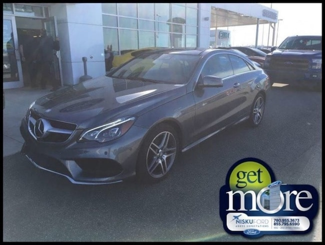 Used 2016 Mercedes Benz E-Class E 400 4matic - Navigation Coupe  in Nisku