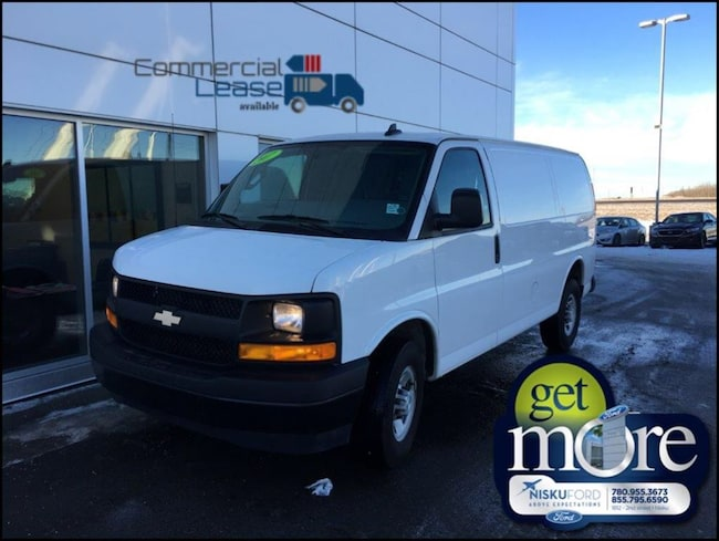 Used 2017 Chevrolet Express 2500 1WT Minivan  in Nisku