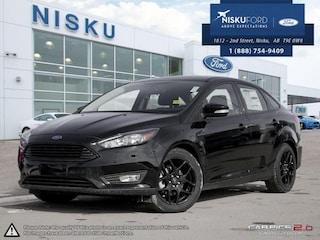 New 2018 Ford Focus SEL -  Navigation Sedan in Nisku