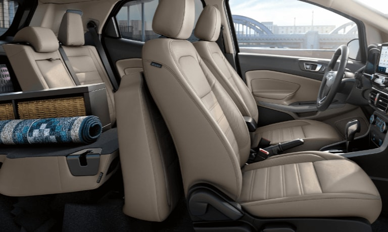 2020 Ford EcoSport interior cargo space view