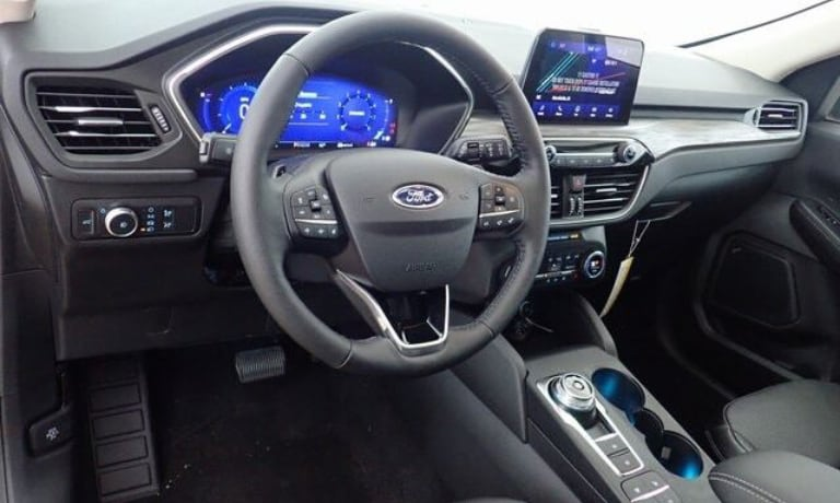 2020 Ford Escape front dashboard view available at Art Hill Ford