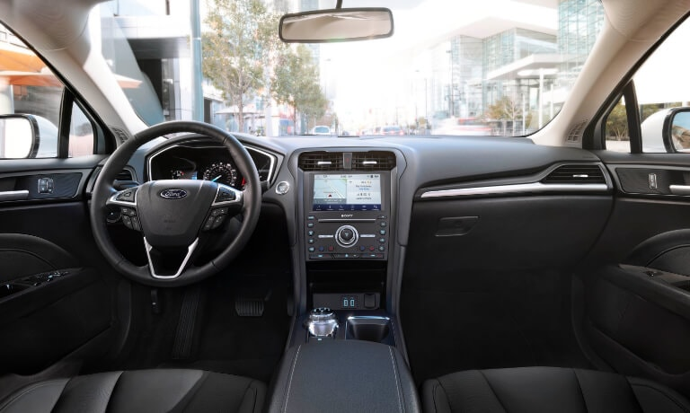 2020 Ford Fusion interior front center console