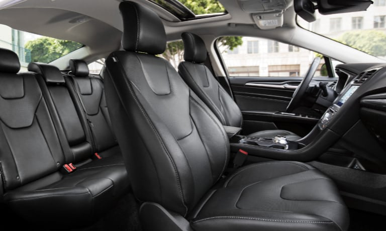 2020 Ford Fusion interior seating view