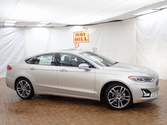 New 2019 Ford Fusion Titanium Sedan Near Gary IN