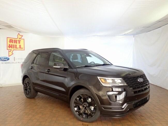 New 2019 Ford Explorer Sport SUV Near Gary IN