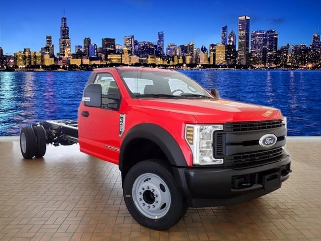 New 2019 Ford F-450 Chassis Commercial-truck Near Gary IN