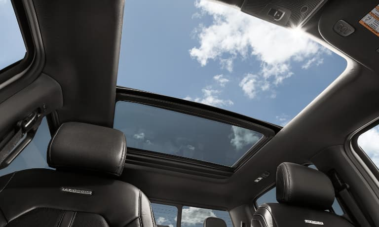 2020 Ford F-150 Interior Sunroof view