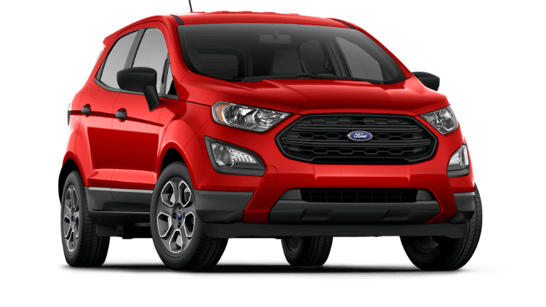 Red 2019 Ford EcoSport S