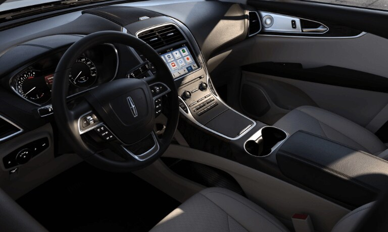 Interior view of the 2019 Lincoln Nautilus