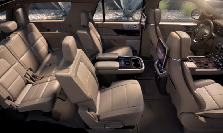 2019 Lincoln Navigator interior 3rd row seating