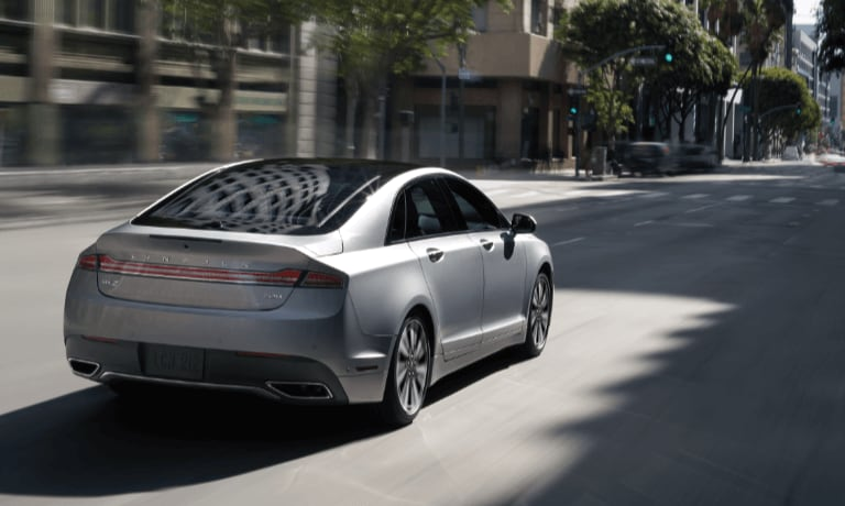 2019 Lincoln MKZ Hybrid rear exterior view