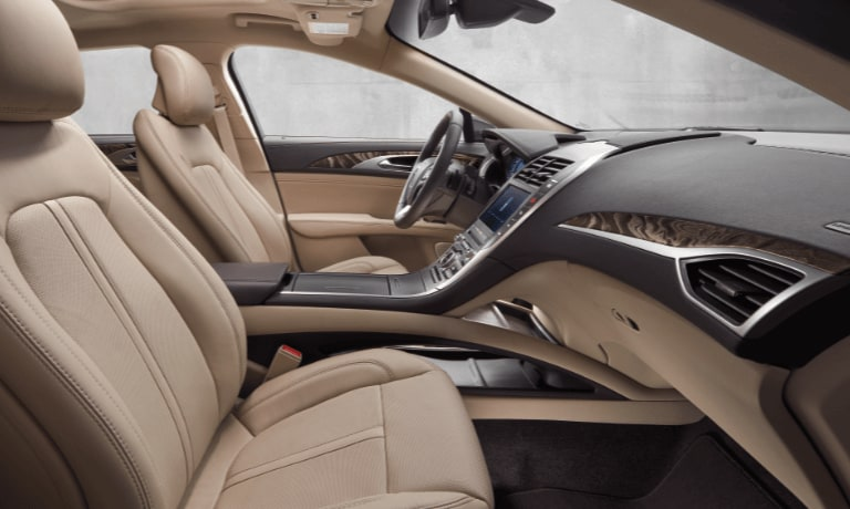 2019 Lincoln MKZ interior seat view