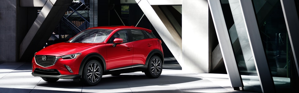New 2018 Mazda CX-3 SUV near Gary, IN