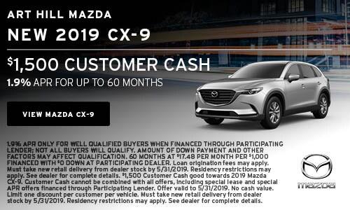 New 2019 Mazda CX-9