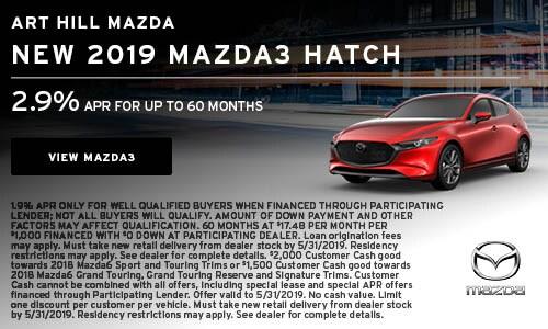 New 2019 Mazda3 Hatch