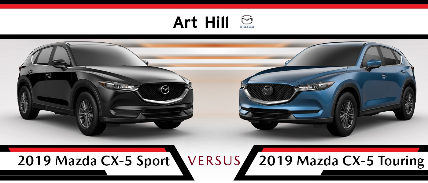 2019 Mazda CX-5 Sport vs Touring