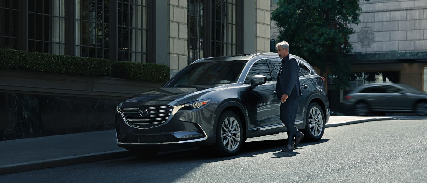 2020 Mazda CX-9 parked on street