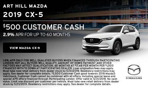 New 2019 CX-5