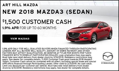 New 2018 Mazda3 Sedan