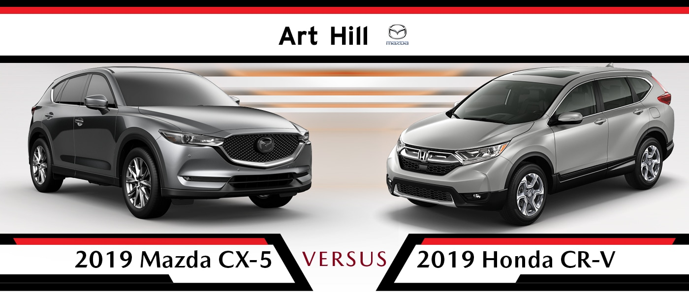 2019 Mazda CX-5 vs Honda CR-V