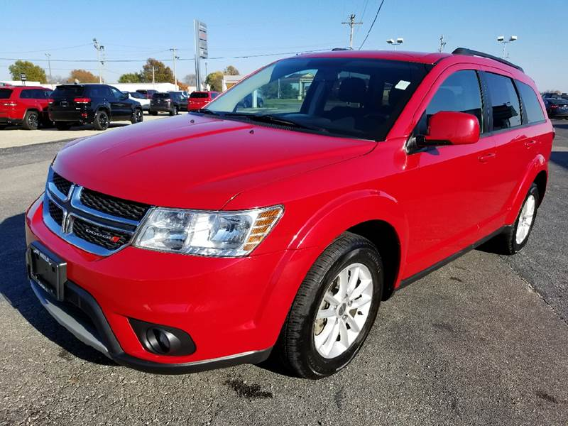 2016 Dodge Journey SXT 4dr SUV SUV