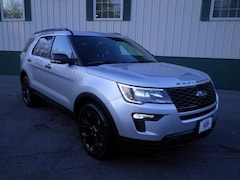 New 2019 Ford Explorer Sport SUV in Arundel, ME