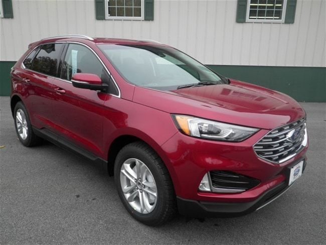 New 2019 Ford Edge SEL Crossover in Arundel near Kennebunk