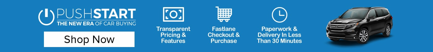 Paperwork and delivery in 30 minutes or less, fastlane checkout and purchase, transparent pricing and features