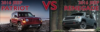 New Jeep Patriot vs New Jeep Renegade Asheboro NC