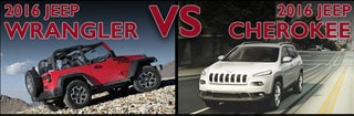 New Jeep Wrangler vs New Jeep Cherokee Asheboro NC