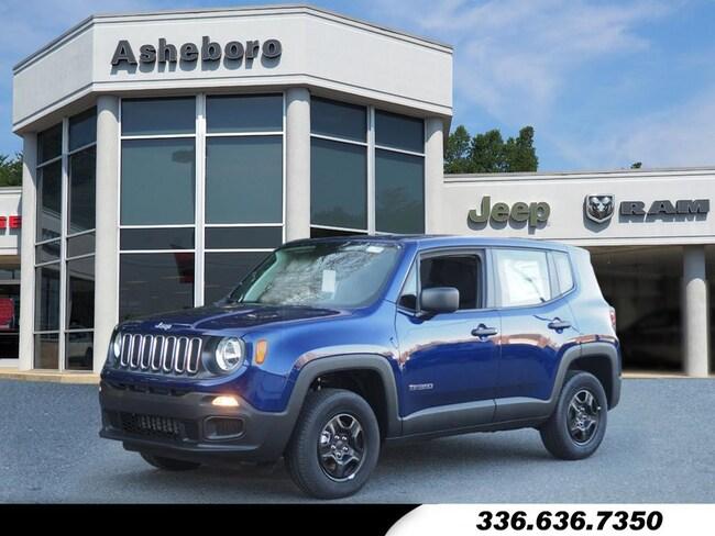New 2018 Jeep Renegade SPORT 4X4 Sport Utility Near Greensboro NC