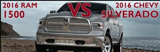 New Ram 1500 vs. New Chevrolet Silverado in Asheboro NC