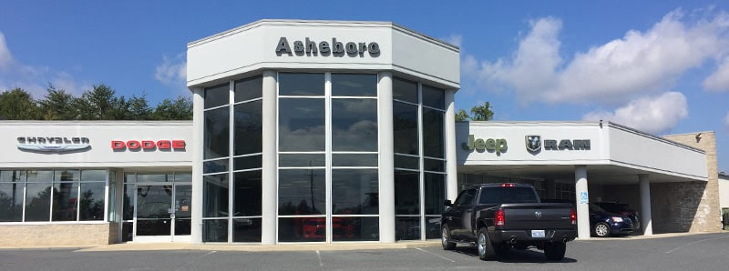 Asheboro Chrysler Dodge Jeep Ram Dealership