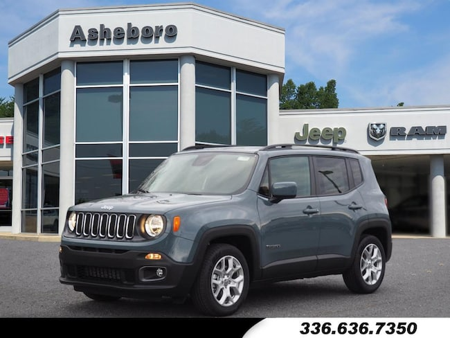 New 2018 Jeep Renegade LATITUDE 4X2 Sport Utility Near Greensboro NC