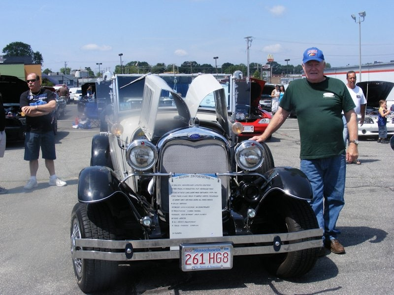 Mike & Pat Perry - 1928 Ford Model A Sport coupe
