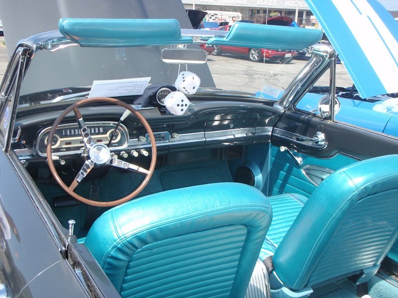 1963 1/2 Falcon Convertible owned by Ed Moniz