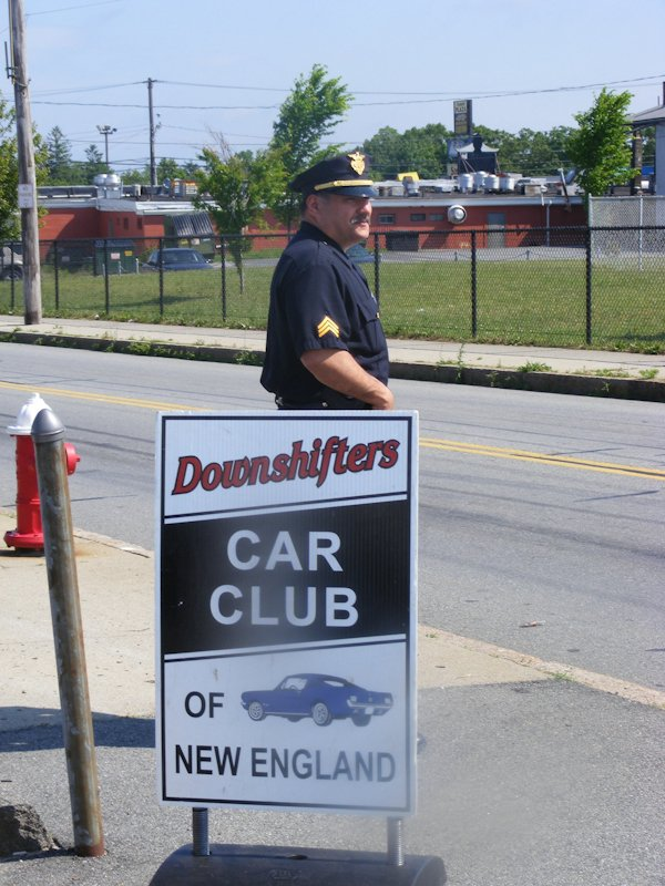 The New Bedford Police Dept. helping to keep our event safe & orderly.