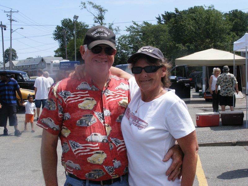 John Remedis with Luanne James - enjoying the fun day