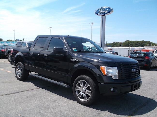 Used 2014 Ford F-150 STX Truck SuperCrew Cab For Sale in New Bedford, MA