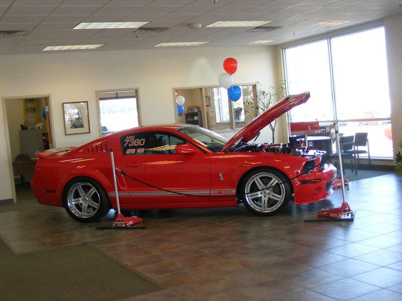 David Shea's 2007 Mustang Shelby GT500