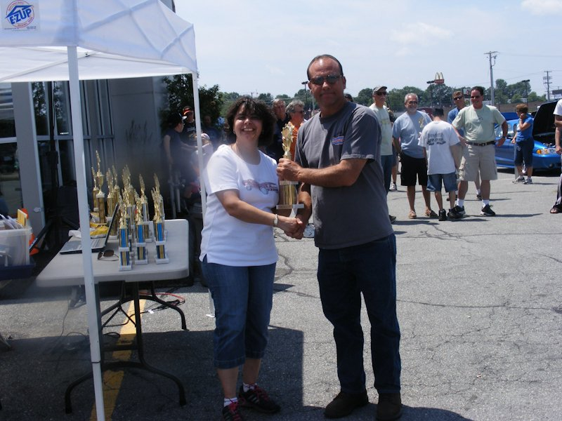Robert White won 1st place in the category of '94-'98 Mustang with his 1998 Mustang Cobra